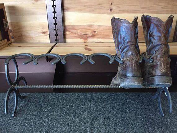 Horseshoe Boot Rack Detalles Pinterest Horseshoe boot rack
