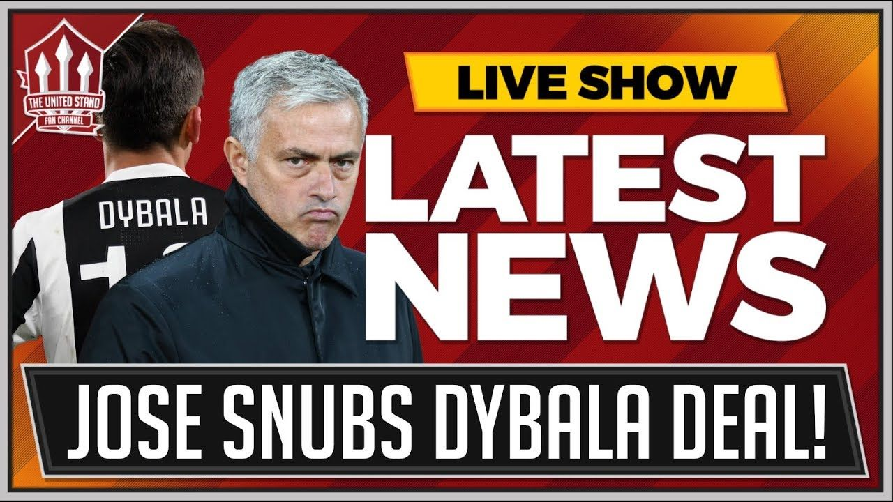 MOURINHO Confirms DYBALA & BALE Not Transfer Targets! MAN UTD Transfer News