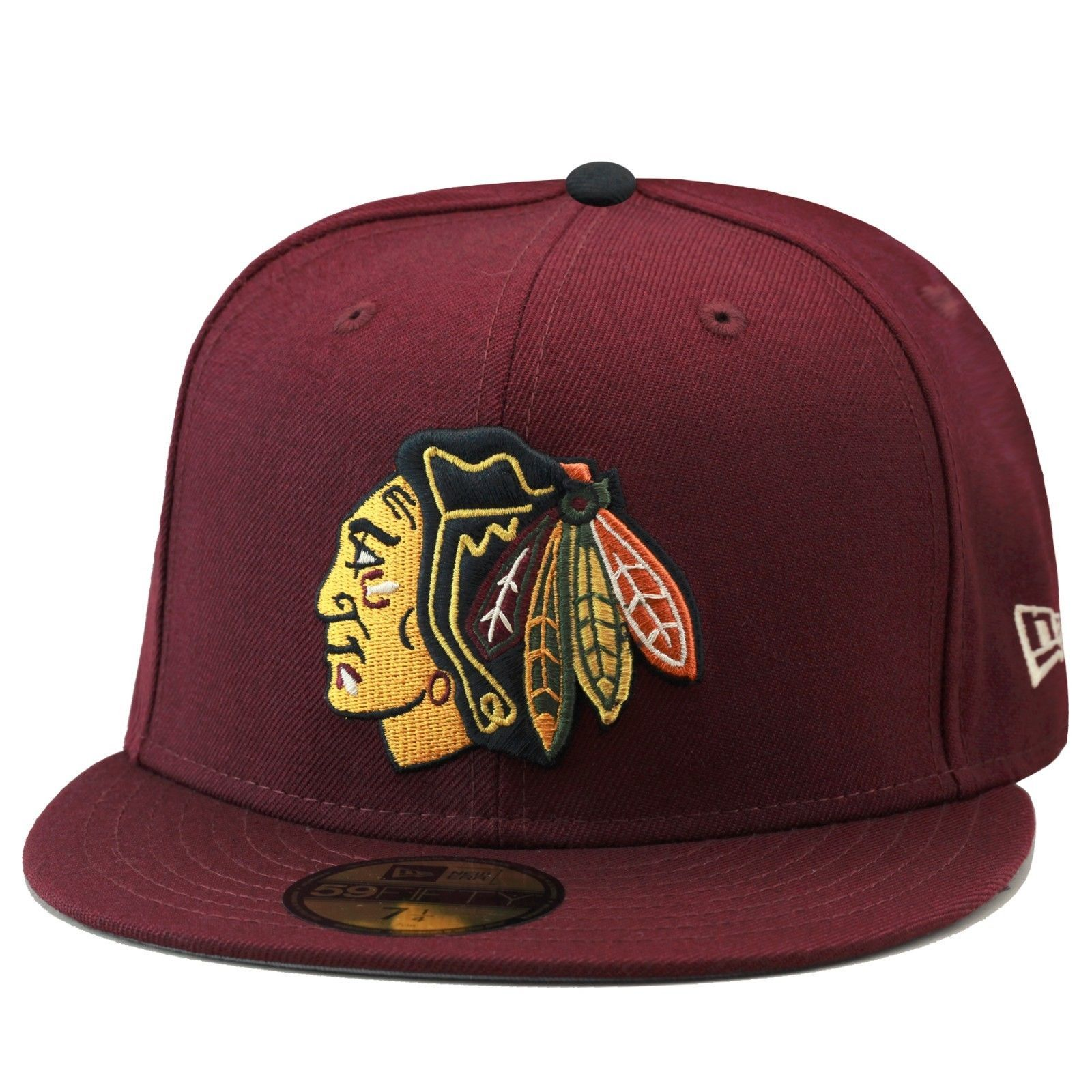Details about New Era 59fifty Chicago Blackhawks Fitted