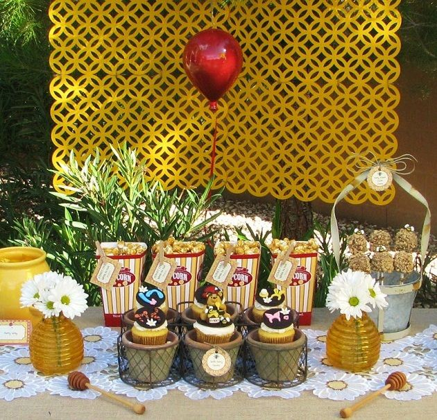 Winnie the Pooh themed table