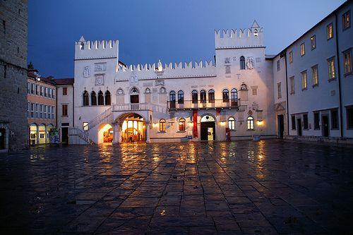 #Koper, Slovenia. Tito's square in the centre of old town of Koper.