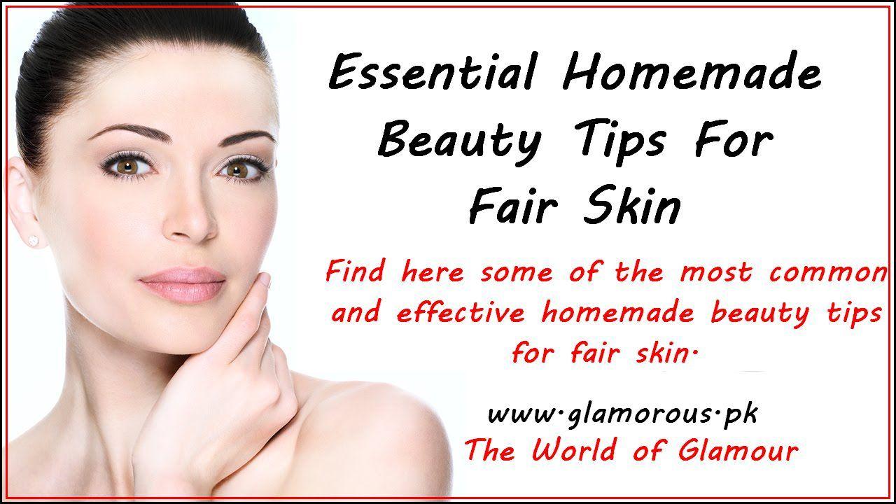 Homemade #Beauty Tips For Fair #Skin #skincare #health #beautytips