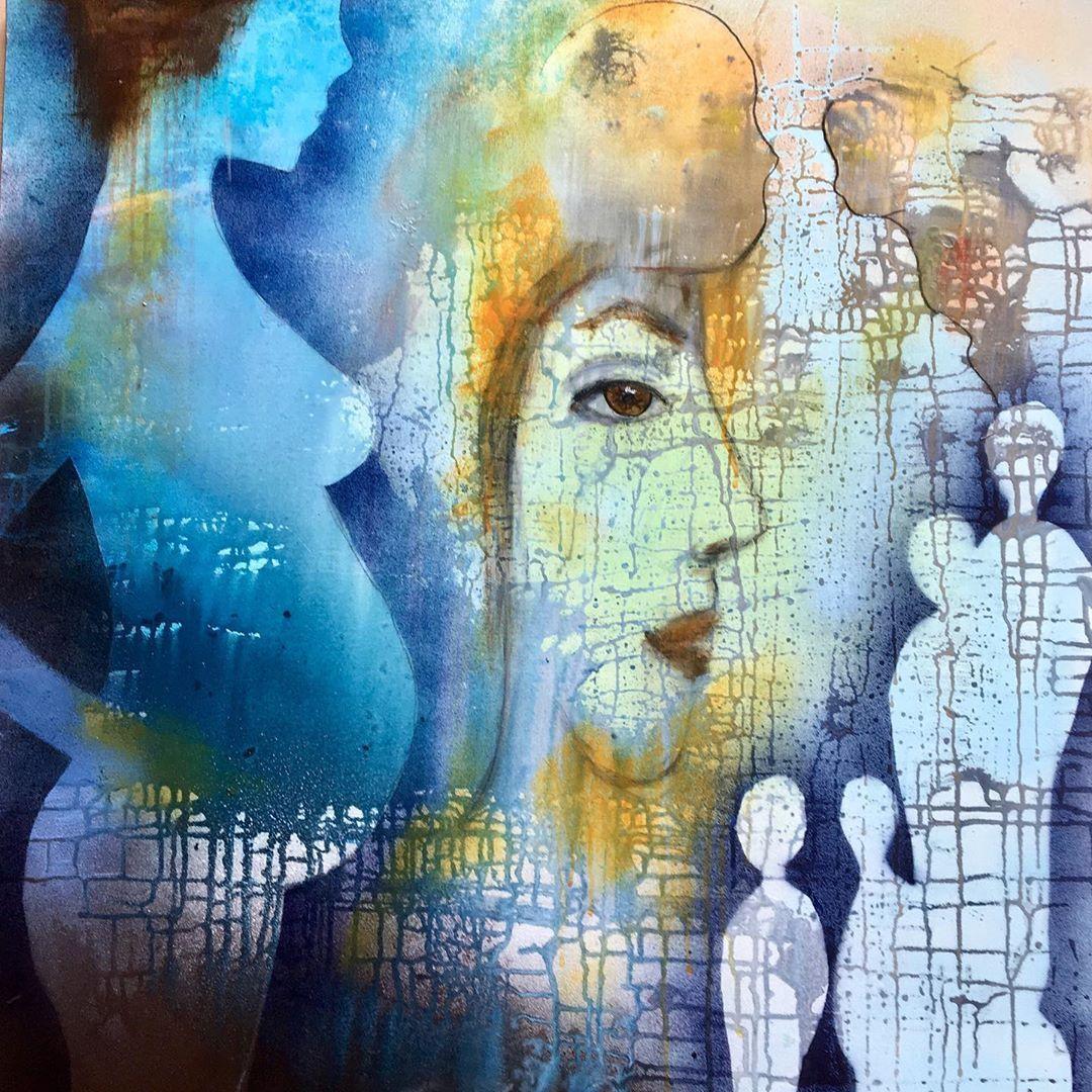 Hugmynd Art Arte Artistsoninstagram Arts Abstrakt Abstractart Abstractexpressionism Abstractpainting Contemporaryart Painting Art Instagram Posts