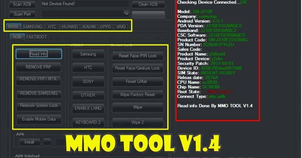 Download MMO Tool v1.4 Latest Version Full Setup 2019