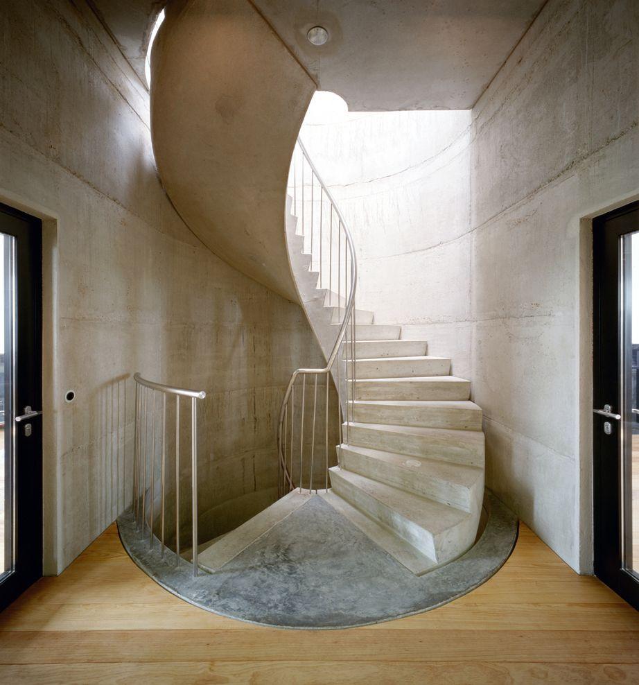 Treppen architektur einfamilienhaus  Rosellenturm, Neuss / Van Den Valentyn Architektur | stairs ...