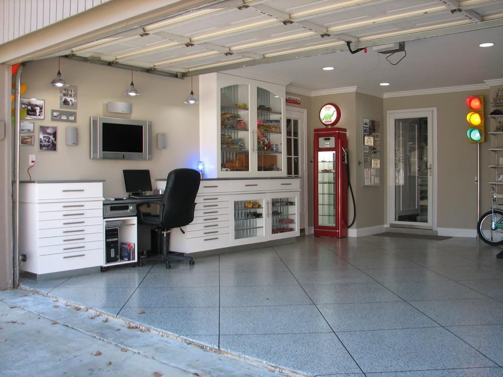 Small Garage Into Man Cave : Small bonus room renovation indoor ideas garage man cave