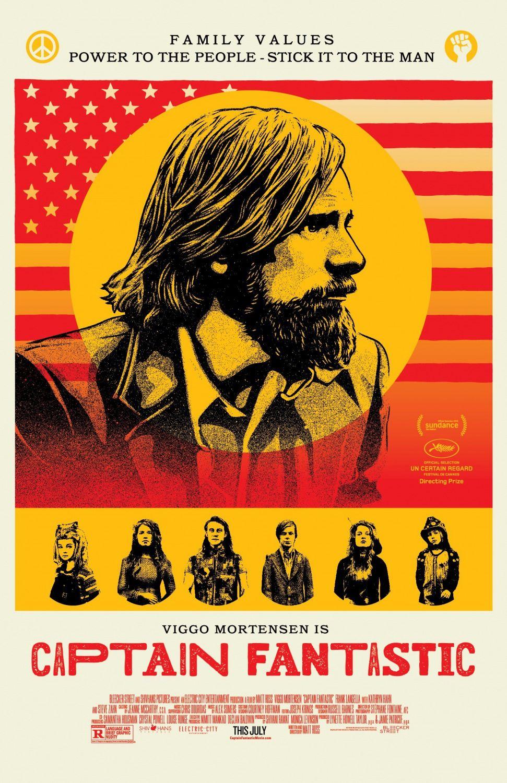 Captain Fantastic Poster Posters Pinterest Captain fantastic