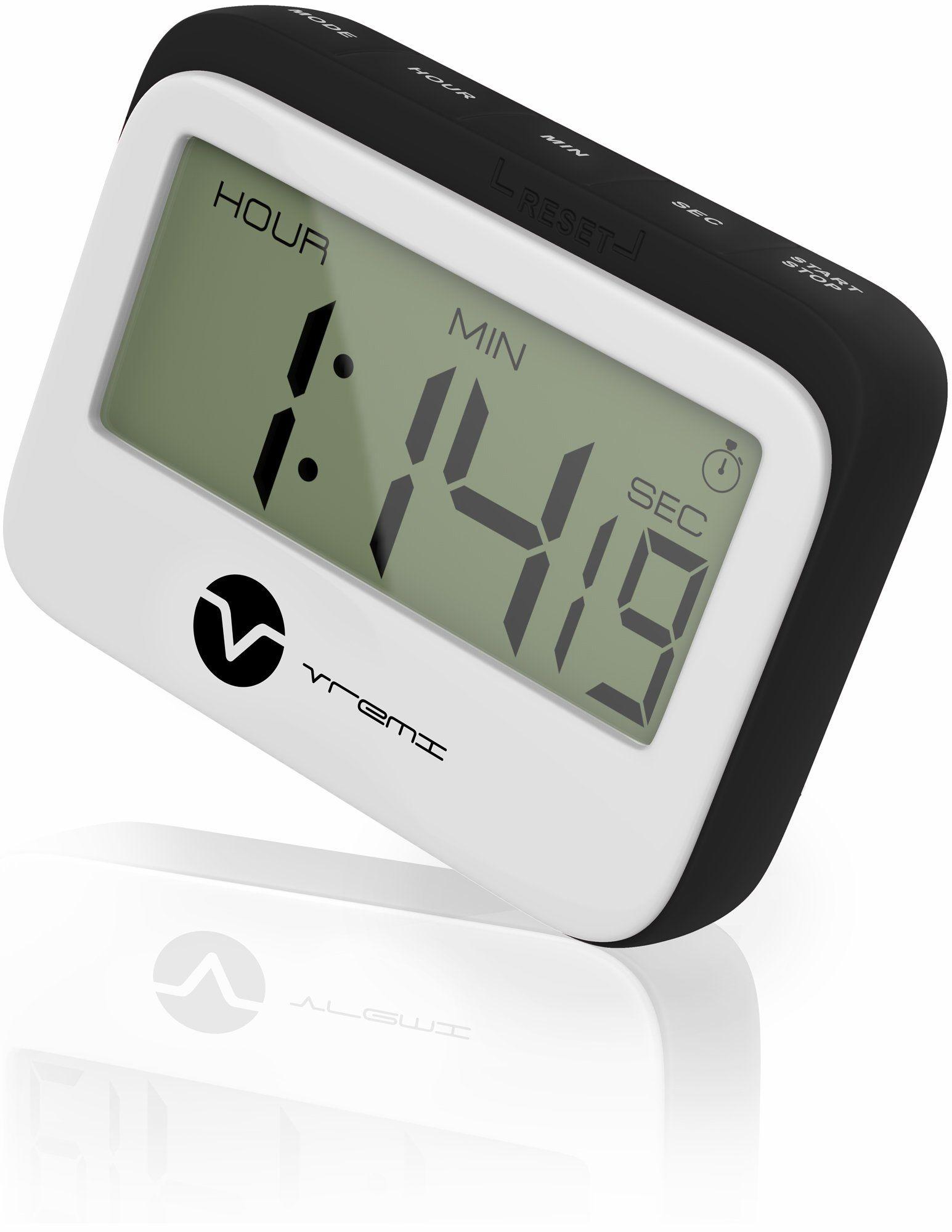 Vremi Digital Kitchen Timer Magnet - Loud Magnetic Kitchen Timer ...