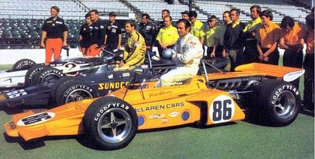 The Cars: McLaren Indy Cars | Indy cars | Pinterest | Indy ...