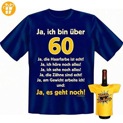 Geschenke Set GoodmanDesign zum 60. Geburtstag Männer ...