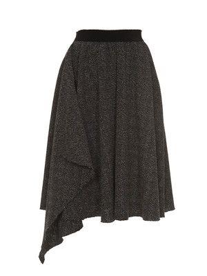 FREE PATTERN asymetrical circular skirt women size :: falda de ...