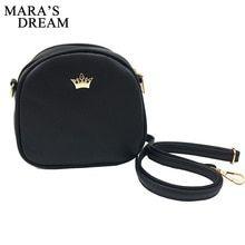 a362ffe42e Mara s Dream Small Women Bag Imperial Crown Designer Women Messenger Bags  Lady Shoulder Crossbody Bag Female PU Leather Handbags(China)