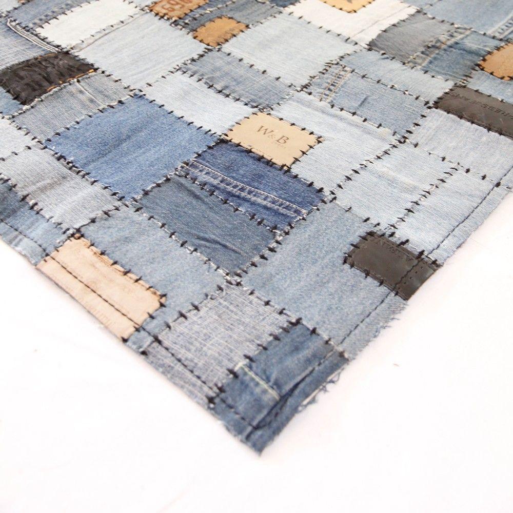 Upcycled Home & Fashion - Upcycled Denim Rug