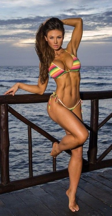 models Hot bikini fitness