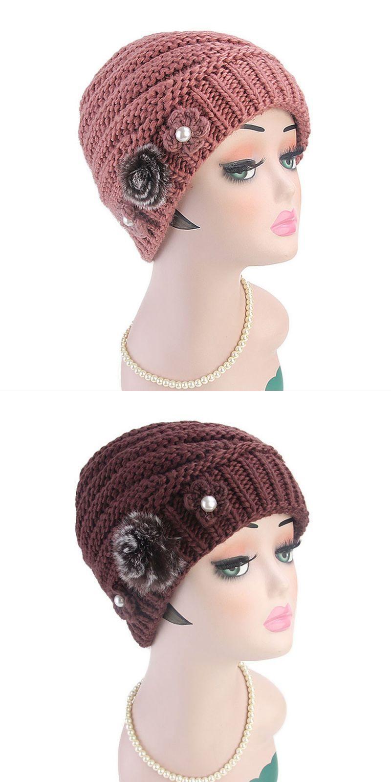 153625a445556 Winter brand female ball cap pom poms winter hat for women girl  s hat  knitted