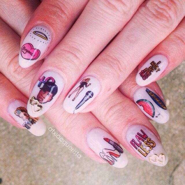 Beyonce Nail Art Beyonc 2014 Part 1 Pinterest