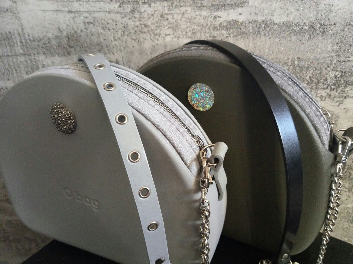 Obag Moon Light Grigio Chiaro And Volcano In Jeans O Bag Bags Riding Helmets