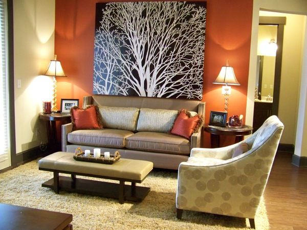 warm space with accent wall colors | furniture | pinterest | wall