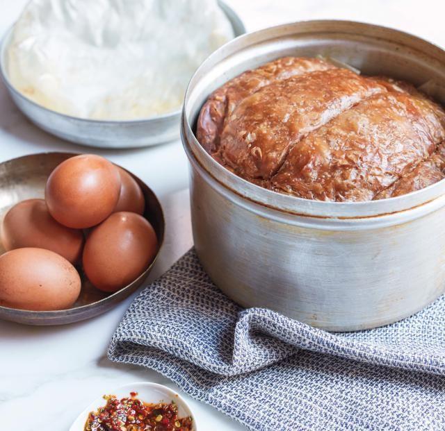 A recipe for the Yemenite Shabbat bread Jachnun, from Uri Scheft's cookbook Breaking Breads: A New World of Israeli Baking.