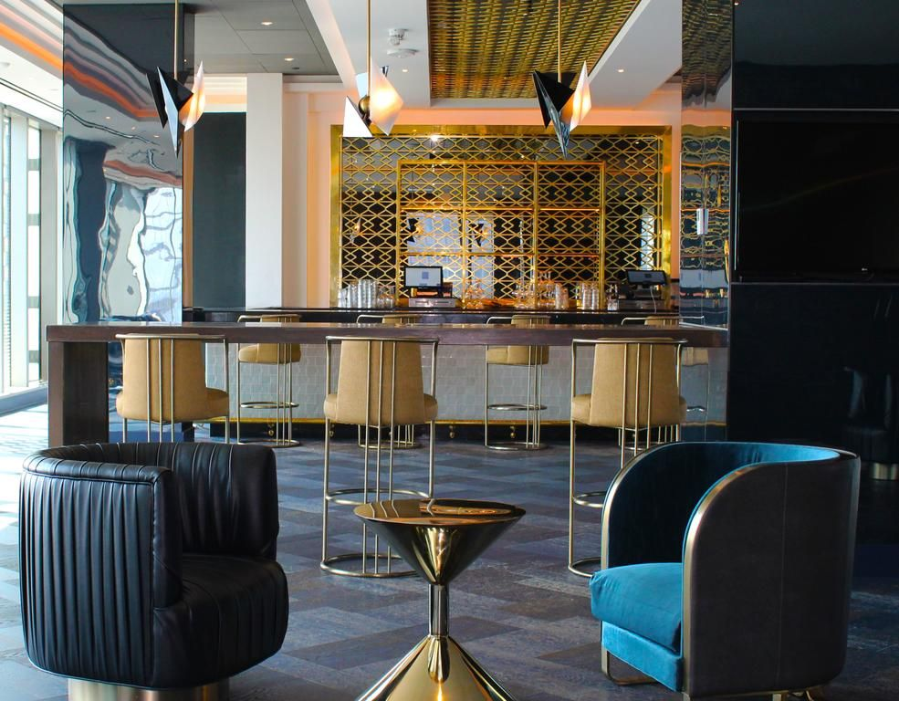 The Stylish Hotel Indigo Los Angeles Downtown Is Set Within The