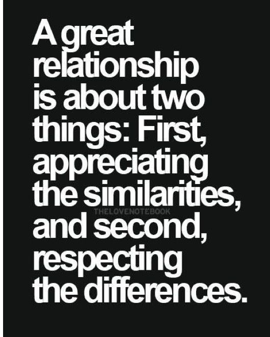 Similarities And Differences Life Love Pinterest Quotes