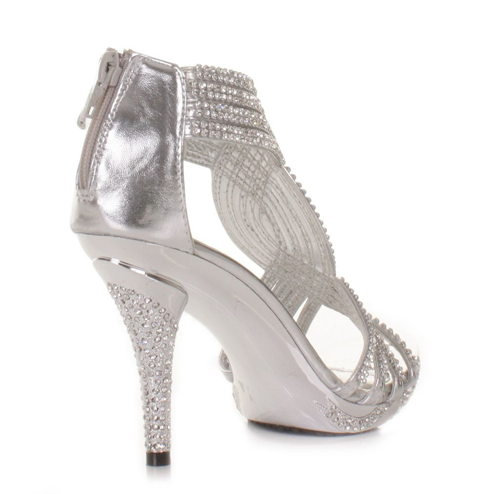 GIRLS ROSE GOLD GLITTER BRIDESMAID WEDDING EVENING PARTY PUMPS SHOES SIZE 10-2
