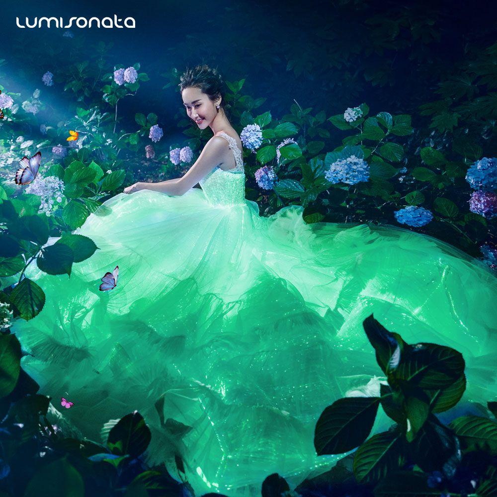 Light up wedding dress  Light wedding dressdo you like  Light Wedding dress  Pinterest