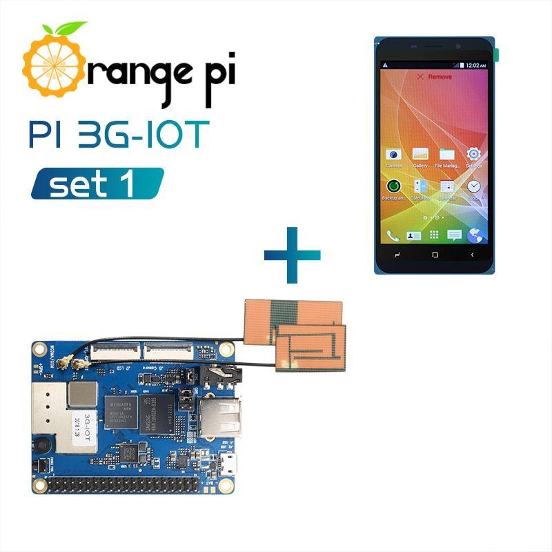 Orange Pi 3g Iot B Set1 Orange Pi 3g Iot B 4 98inch Black Color