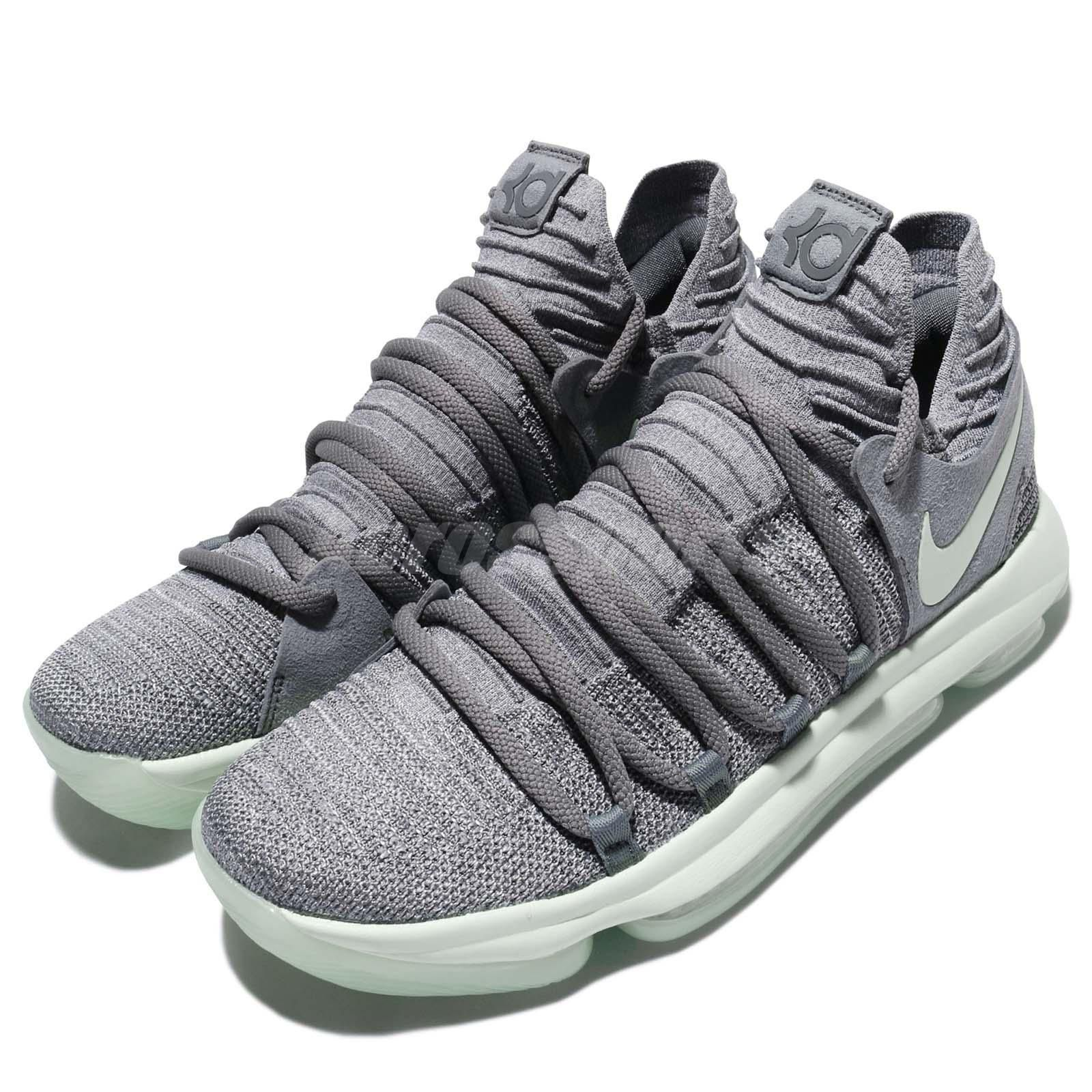 179021cce8a Nike Zoom KD 10 EP X Kevin Durant Cool Grey Igloo Men Basketball 897816-002