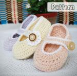 mary jane booties crochet pattern [PTB-MJ] : Amigurumi Patterns, Wedding Dolls, Safety Eyes