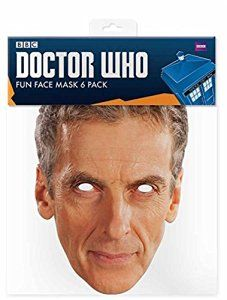 12th Doctor - Card Face Mask