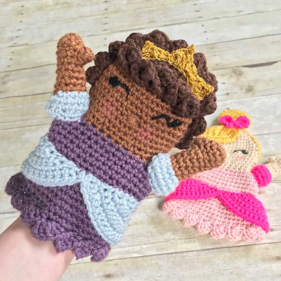 Thnlife Princess Hand Puppet Free Crochet Pattern By Erin Greene