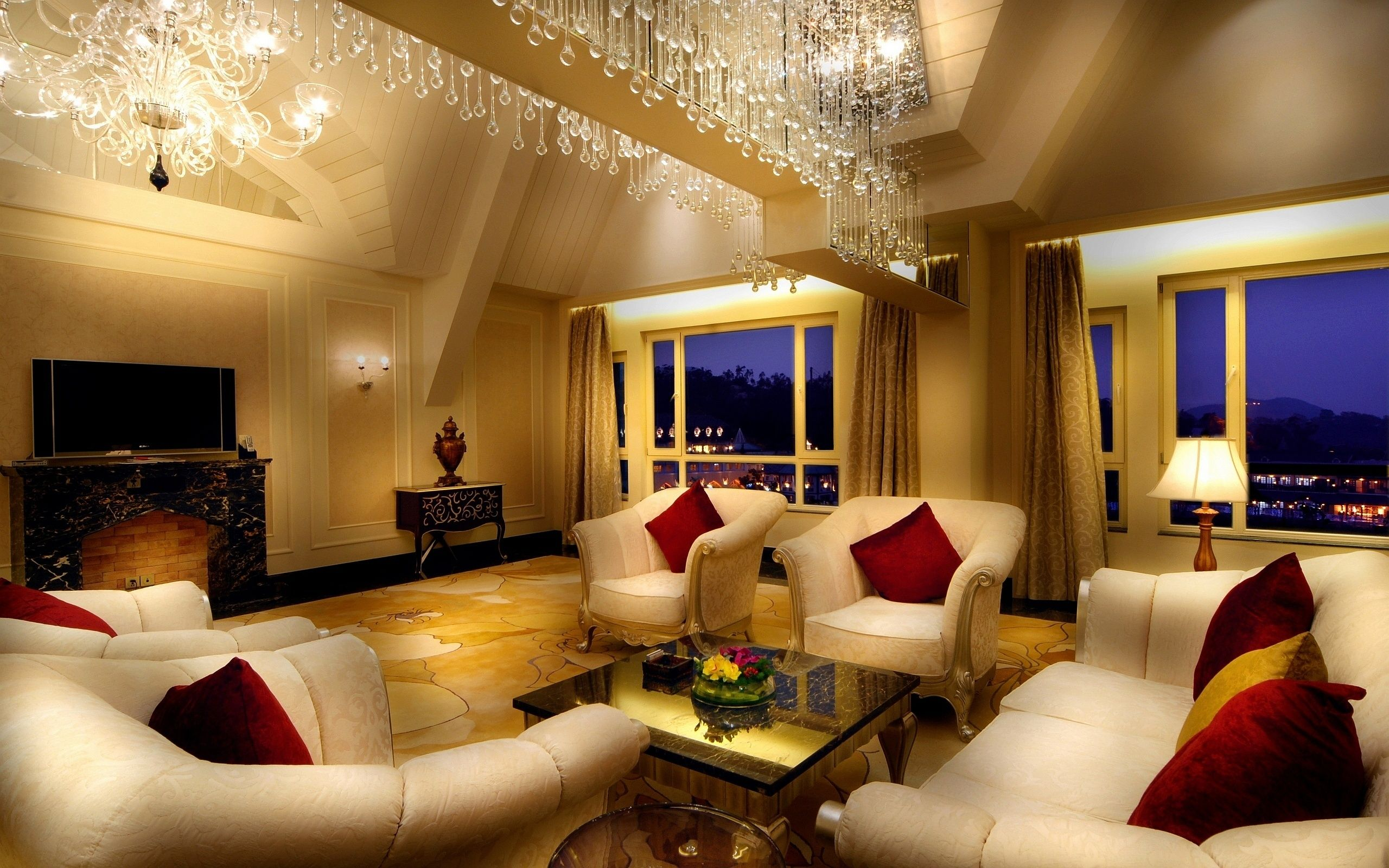 Luxury Music Room | Description: The Wallpaper Above Is Luxury Living Room  Wallpaper In . Photo