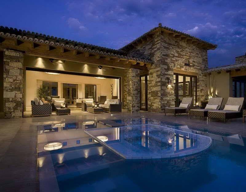 Modern Luxury Spanish Traditional House Design Ideas