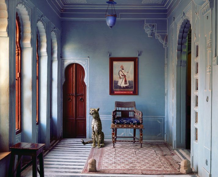 Karen Knorr The Maharajas Apartment Udaipur City Palace From Book