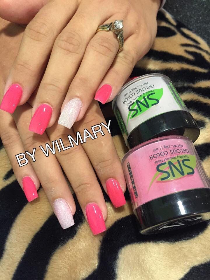 SNS nails (dipping powder) @ Angel Nail Spa #2 . | nails | Pinterest ...