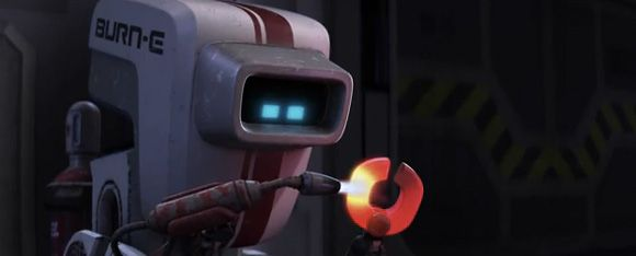 Remember This Guy From Wall E Burn E Pixar Animated Short Film Short Film Pixar Burns