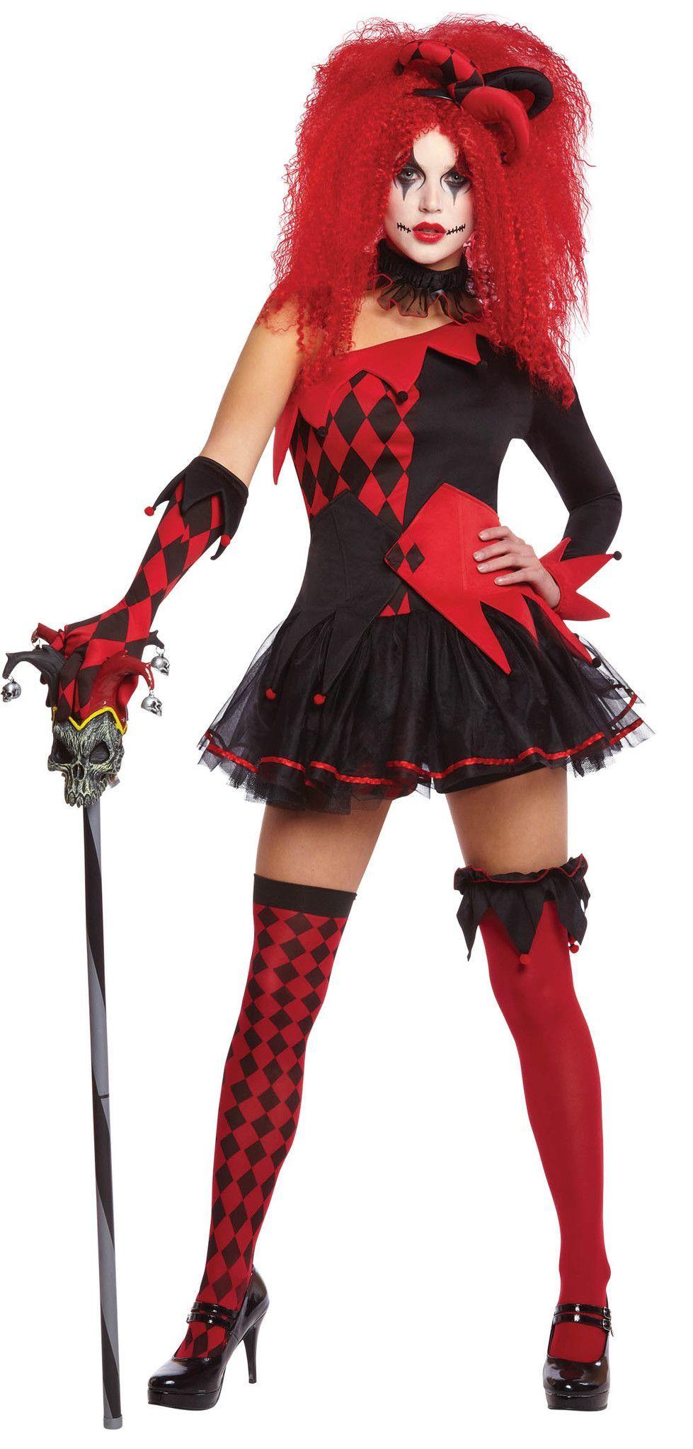 Costume Jesterina Halloween disfraces, Disfraces y
