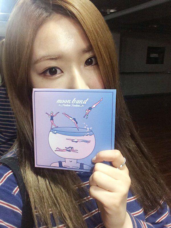 2016.05.03 4TEN Twitter: Hyejin (김혜진)