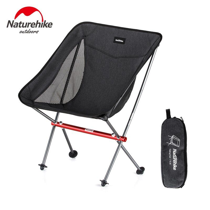 Naturehike Folding Portable Beach Chair Foldable Lighweight Camping Chair Outdoor Backpack Fishing Chai In 2020 Picnic Chairs Folding Beach Chair Beach Chairs Portable
