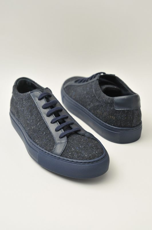 Common Projects Achilles Wool Navy Blue