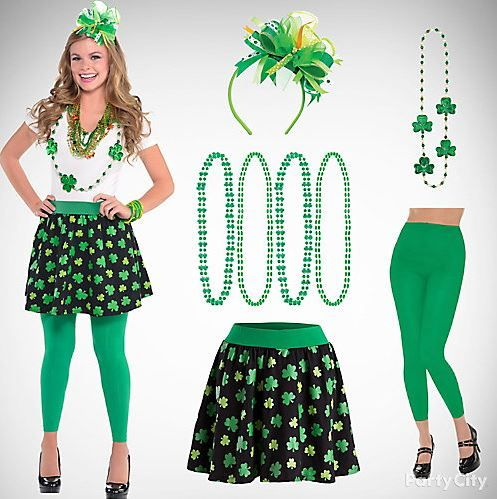 bb52a1970 St. Patrick's Day Party Costumes, Outfit Ideas | Fancy Dress Costumes on  Saint Patrick Day