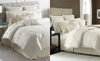 Martha Stewart Collection Marble Flowers 9 Piece Comforter Sets