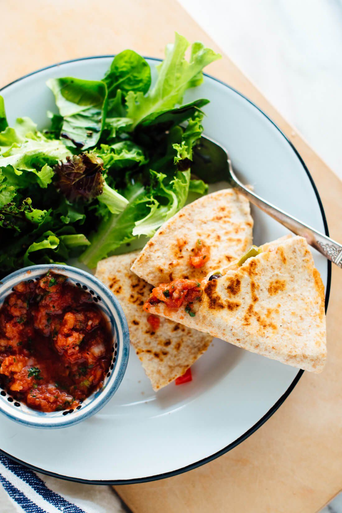 Photo of 10-Minute Quesadillas Recipe – Cookie and Kate