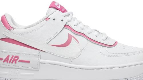 Wmns Air Force 1 Shadow White Magic Flamingo Nike Ci0919 102 Goat In 2020 Air Force 1 Sneakers White Air Force 1