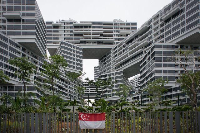 The Interlace, Singapore by OMA and Buro Ole Scheeren via ADDoA - photos by Jonas Klock. Astrogeographical position: in the fire sign Sagitarius most important zodiac sign for design together with the water sign Cancer the most important indicator for authenticity in modern art.