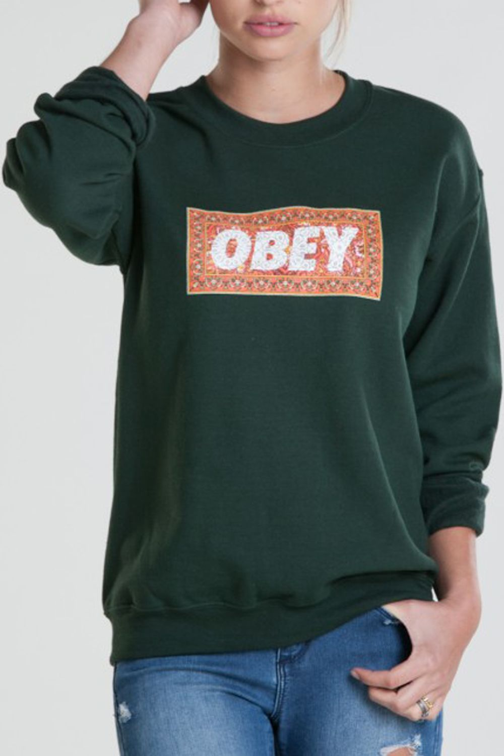 Magic Carpet Throwback Fleece, Knitwear and Sweats - Obey Clothing UK Store  - Obey Mens