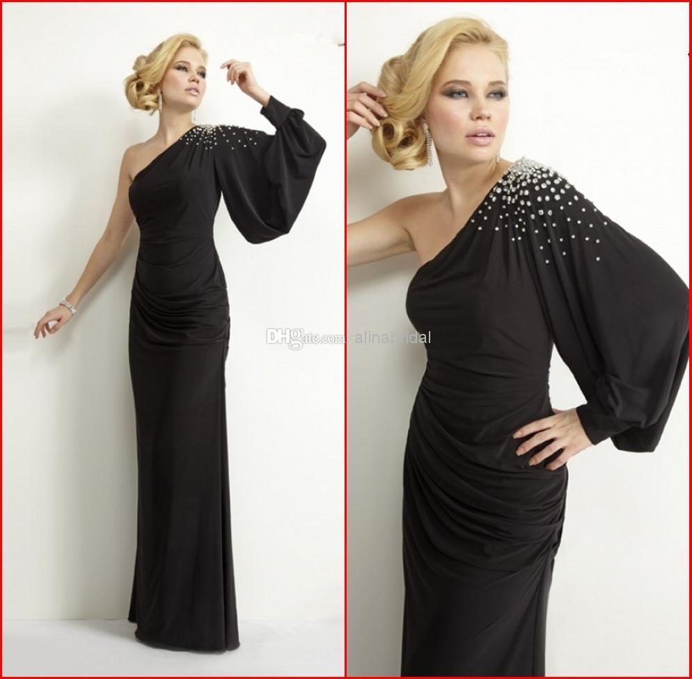 Wholesale evening dresses buy new janique evening gowns black