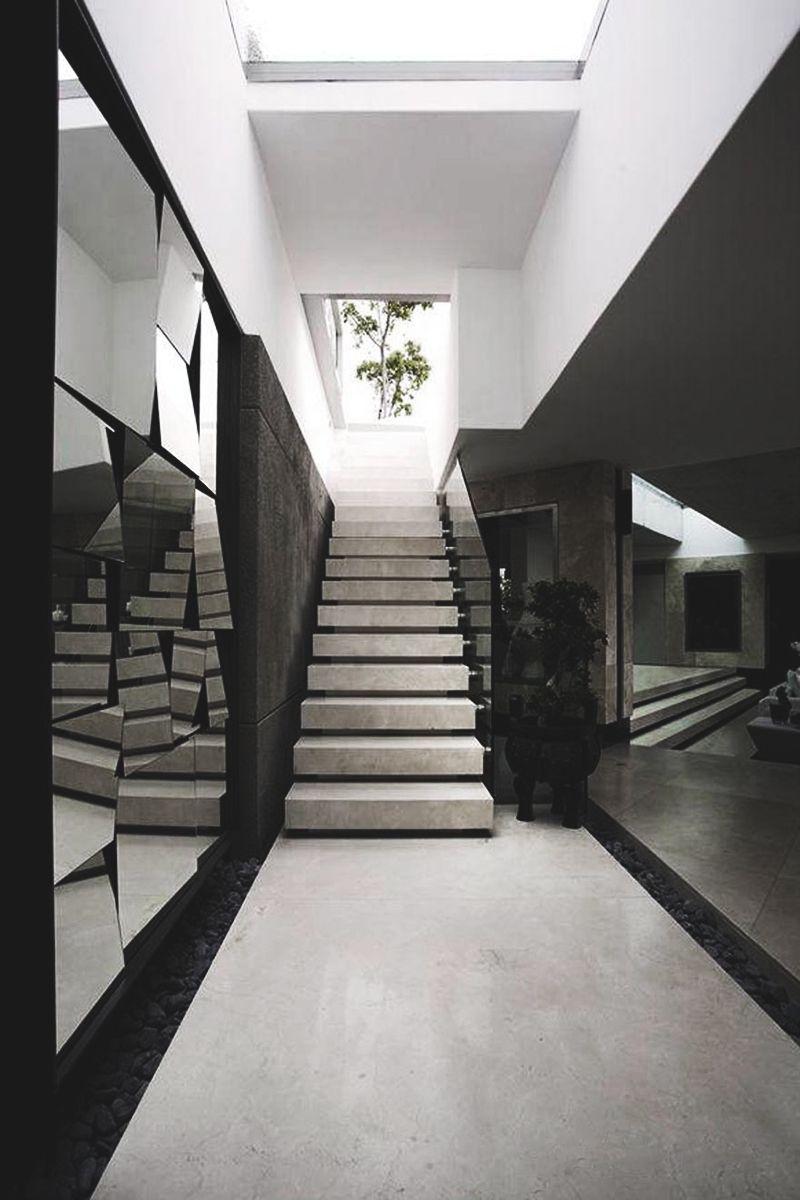 Ellatarry arquitectura residencial arquitectura interior escalera casa recibidor barandas escaleras