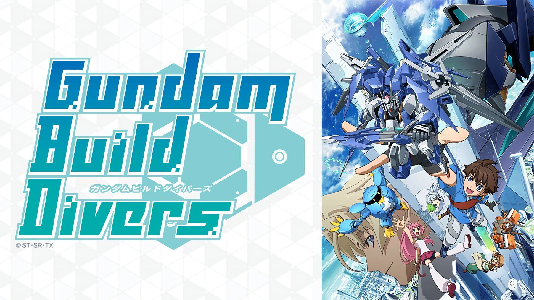 Gundam build divers 720p eng sub x265 10bit episode 08